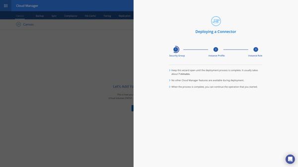 Create Connector - Deploying a Connector