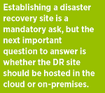 seamless disaster recovery failover cloud-based disaster recovery strategy