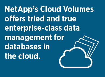Cloud Volumes and Data Management in the Cloud