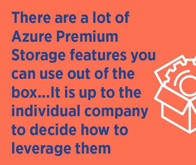 azure premium storage disaster recovery