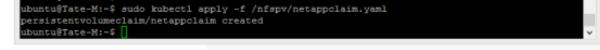 Storgae class name: Netapppv