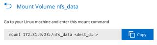 Mount Volume nfs_data