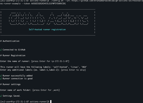 Bootstrapping GitHub Actions runner agent