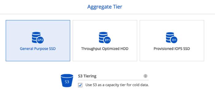 Capacity Tiering Amazon S3