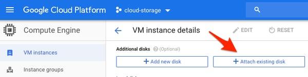 Compute Engine VM instance details