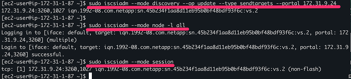 Discovery and Connection to Cloud Volumes ONTAP