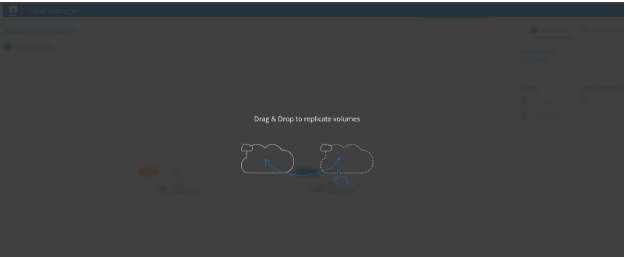 Drag-Drop-Replication-Screen