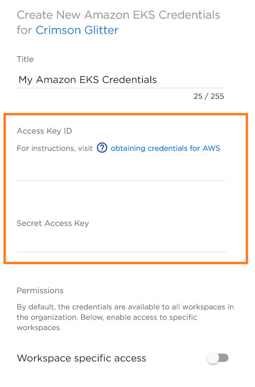 Using Amazon EKS with NetApp Cloud Volumes Service