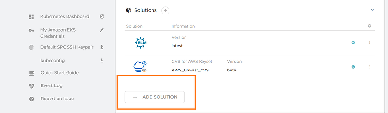 "Click on ""Add Solution"" to add a sample solution."