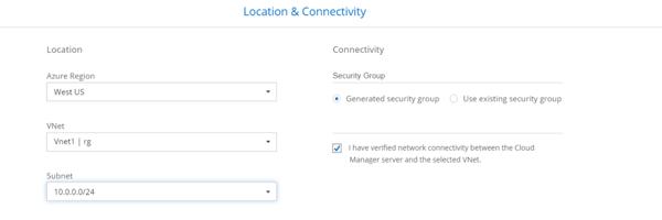 Location & Connectivity