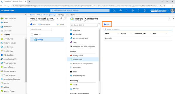 Create a local network gateway that represents your on-premises VPN endpoint and the OP range of the on-premises network that will be connected to Azure VNet.