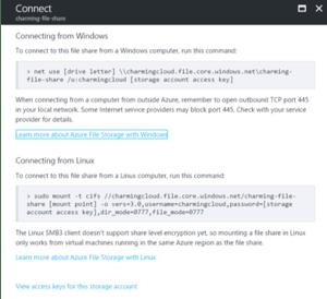 Azure File Storage