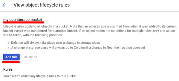 Object Lifecycle Rules