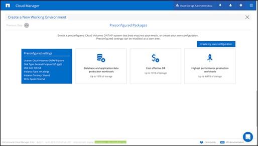 Preconfigured packages_netapp