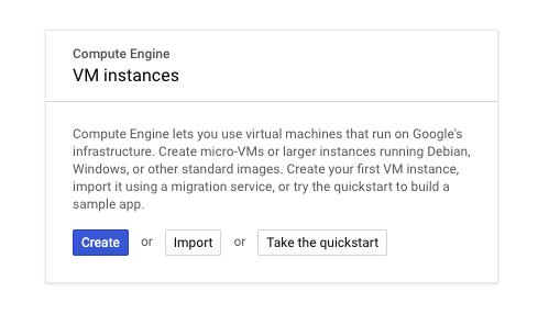 Compute Engine VM Instances