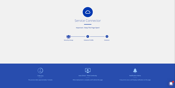 Service connector page