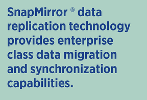 SnapMirror Data Replication Capabilities