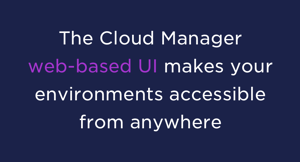 WebBased UI NetApp Cloud Manager