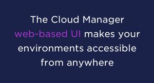 WebBased UI NetApp Cloud Manager