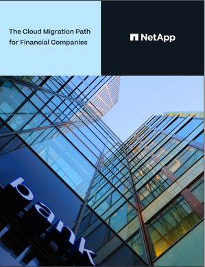 eBook cover - The Cloud Migration Path for Financial Companies