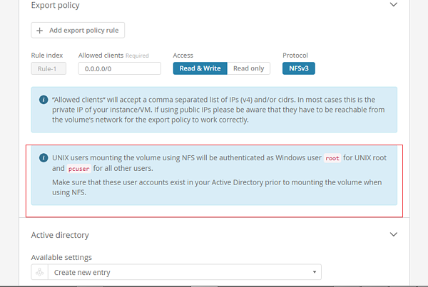 Deploy NFS and SMB Cloud Volumes Using a GUI or API