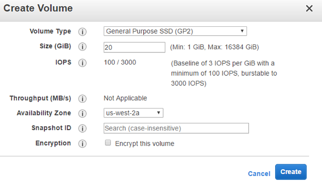 Backing Up Instance Store Volumes to AWS EBS