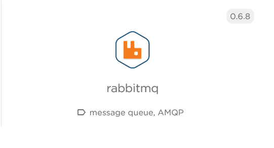 For this example, we selected the rabbitmq solution from the list and added it.