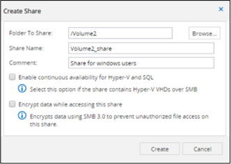NFS and SMB/CIFS Enterprise File Sharing on Cloud Volumes ONTAP