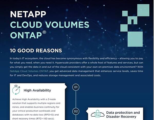 10 Good Reasons for NetApp CVO