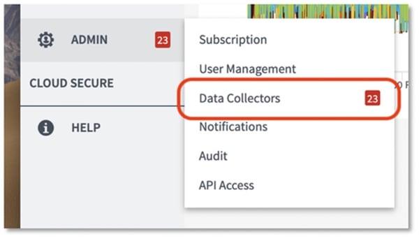 Data Collector Menu