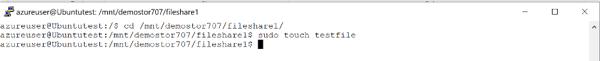 Create a test file