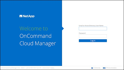 welcome to cloud manager_NetApp