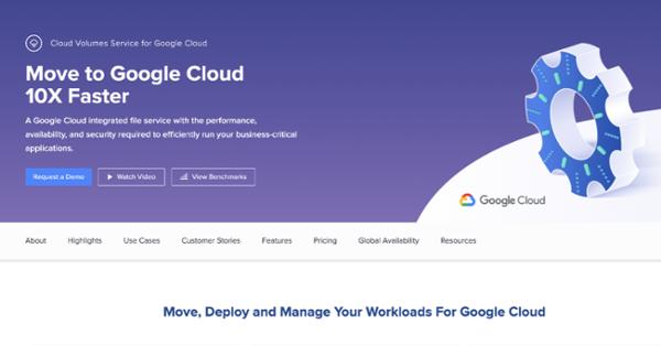 Cloud Volumes Service for Google Cloud
